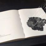Subjectile à la foire du livre de Francfort avec le livre La neige n'a pas de sens
